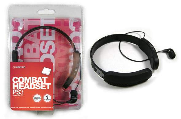 Auriculares con micro Woxter Combat Headset PS3