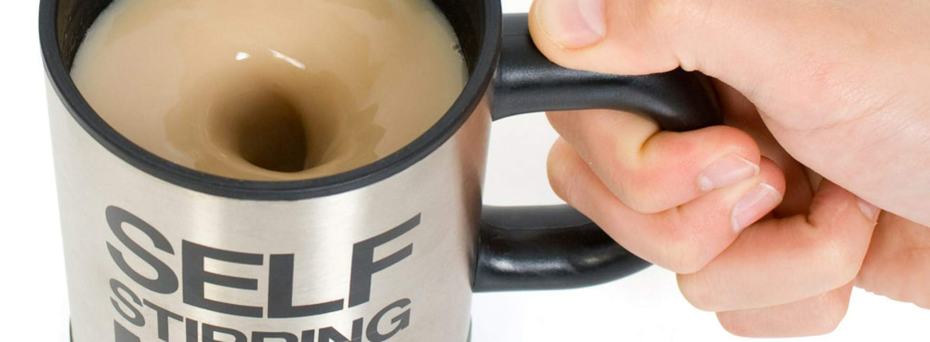 Self Stirring Mug: Taza que se agita sola