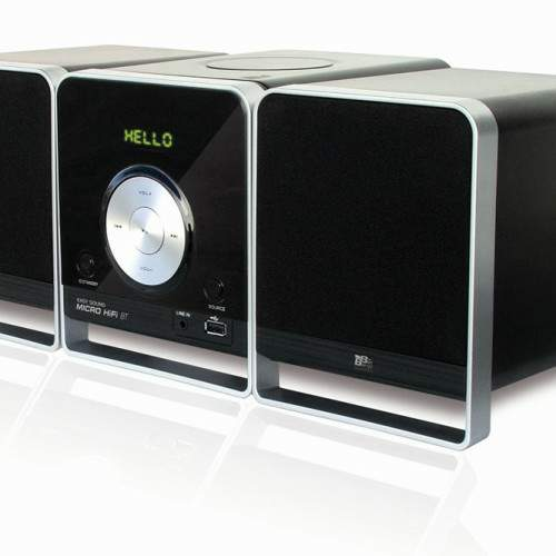 Easy Sound Micro HiFi BT, una microcadena que lee de todo