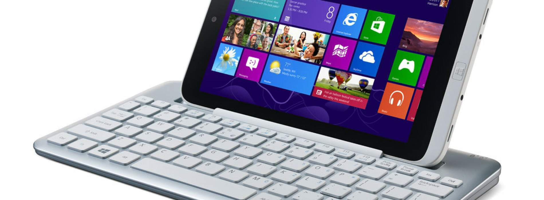 Iconia W3, el primer tablet de 8 pulgadas con Windows 8