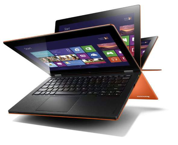 Lenovo Yoga 11 color naranja