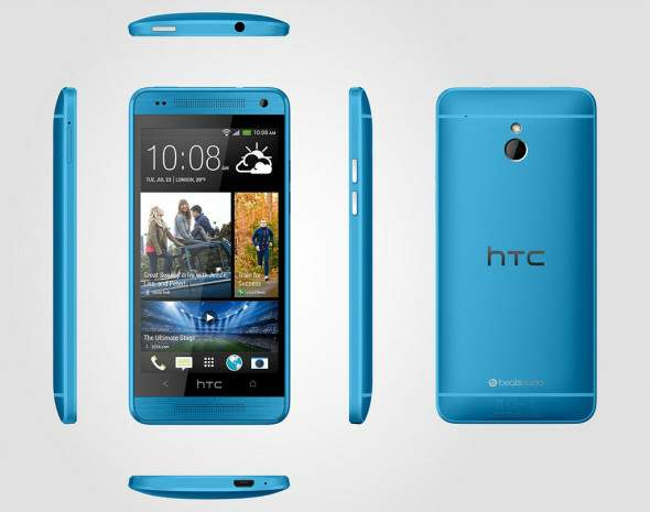 HTC One Mini Vivid Blue
