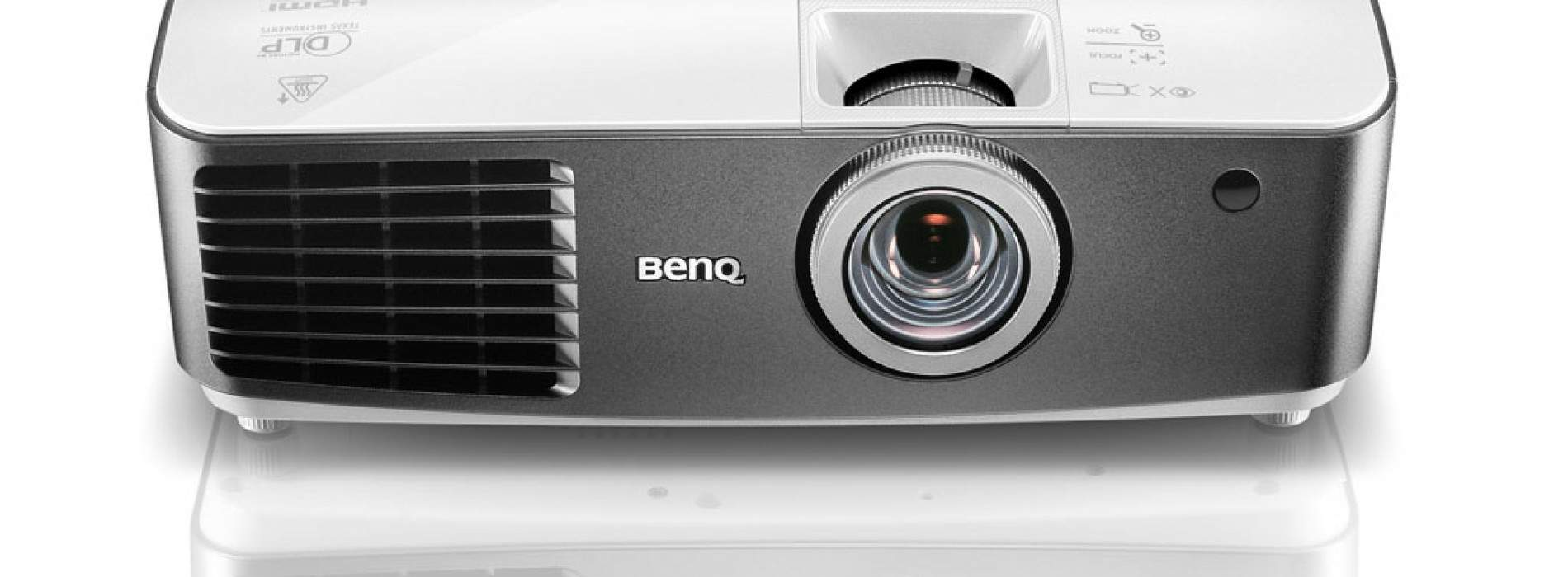 BenQ lanza sus proyectores W1300 y W1400, Full HD y 3D