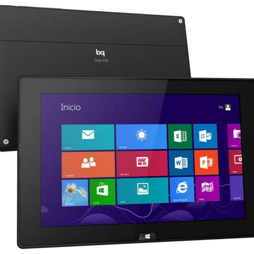 bq Tesla W8, la primera tablet Windows de bq