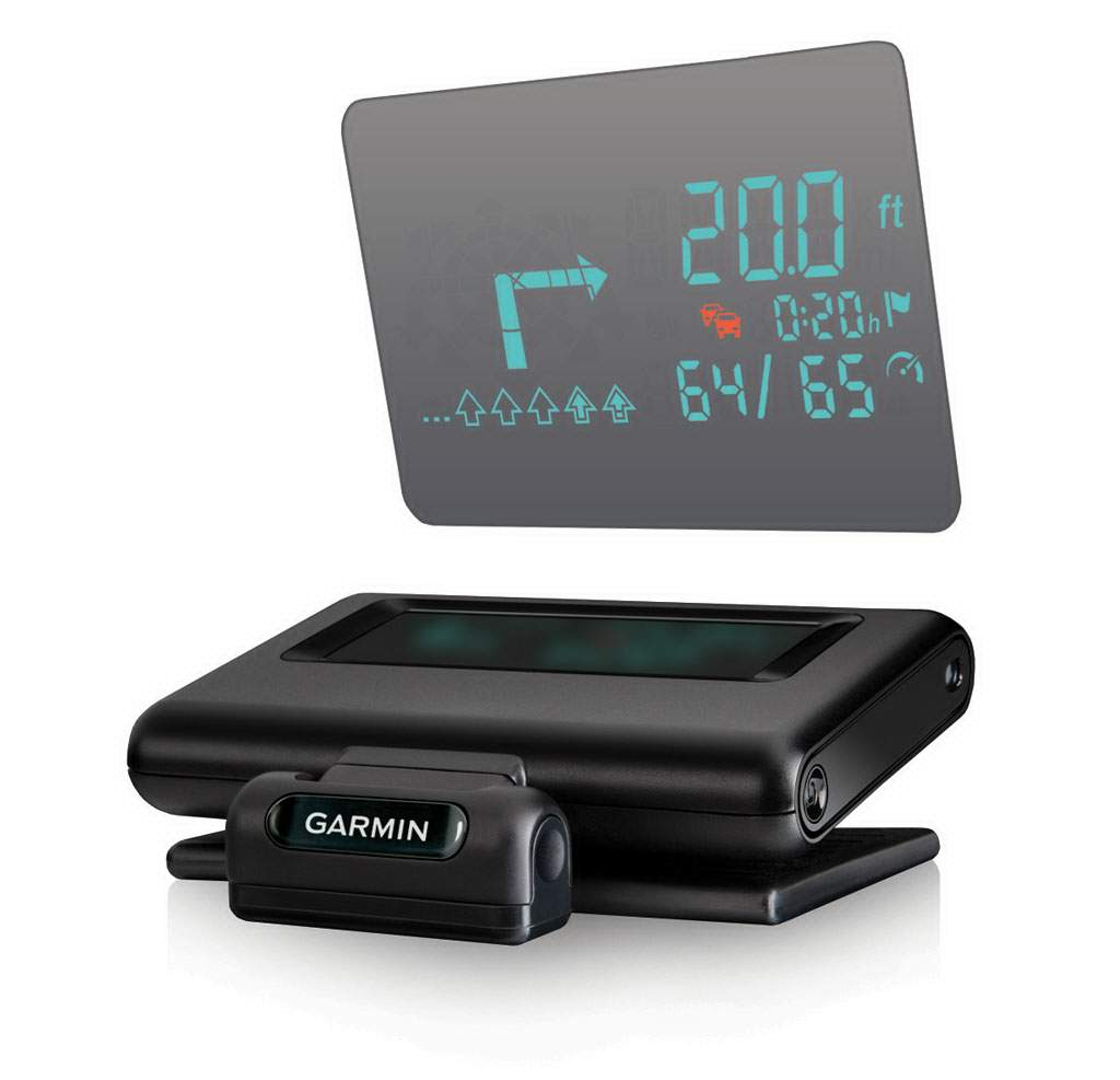garmin hud el navegador gps del futuro revista gadget. Black Bedroom Furniture Sets. Home Design Ideas