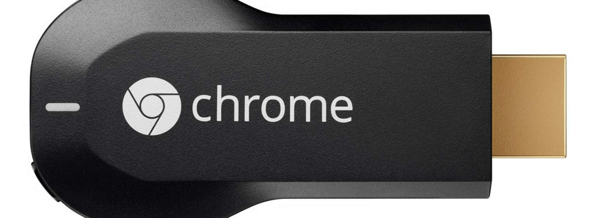 Chromecast, ya disponible por 35 euros