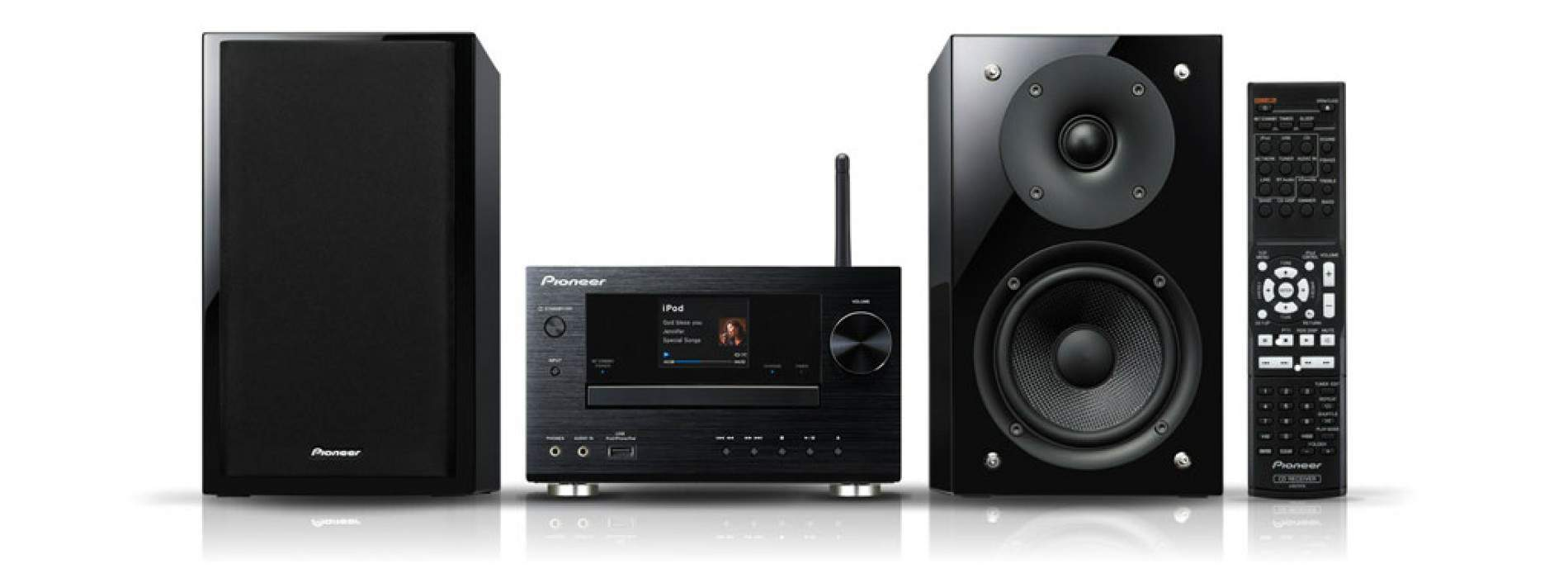 Microdadena X-HM81-K y Network Media Player N-50 de Pioneer