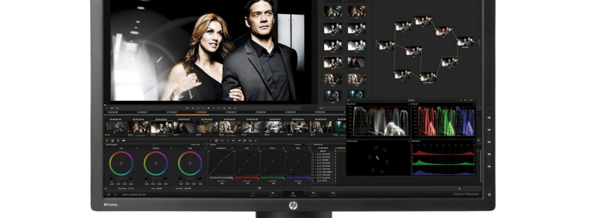 HP DreamColor, monitores que reproducen el color con exactitud