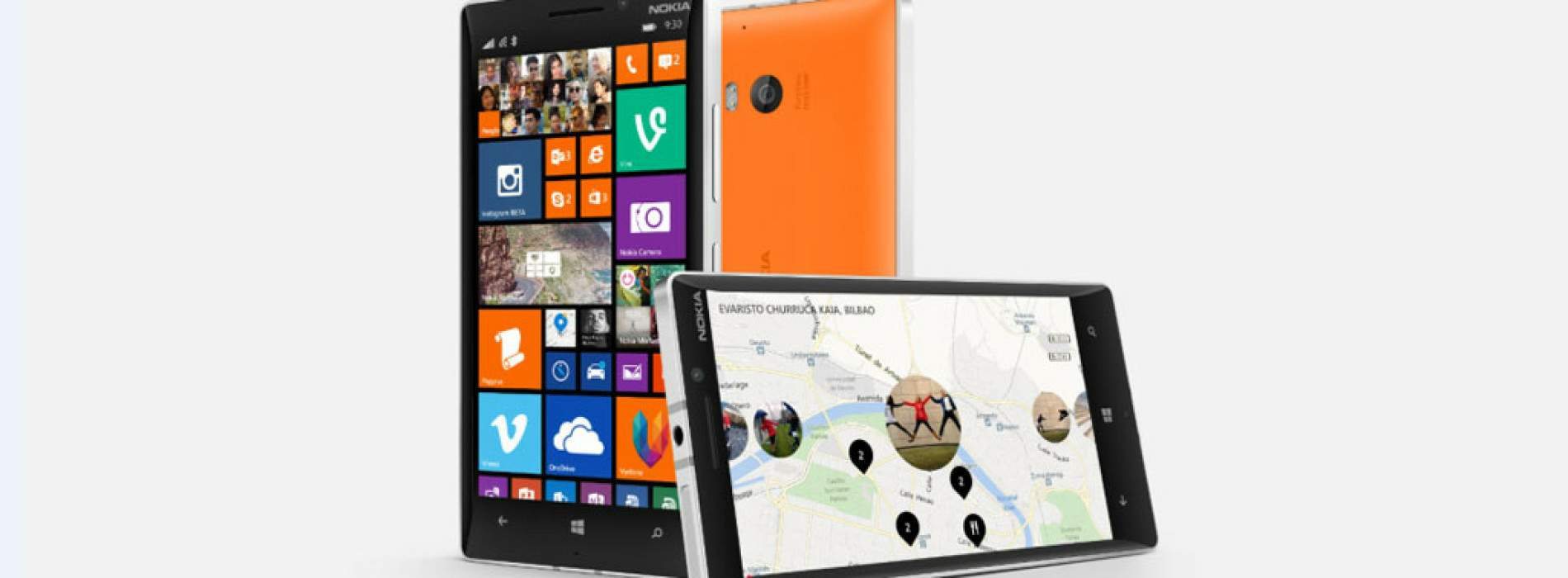 Nokia Lumia 930, 630 y 635 con Windows Phone 8.1