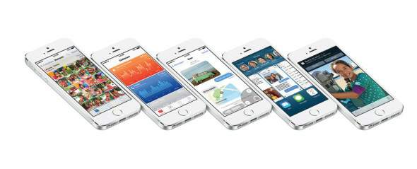 iOS 8 - iPhone 5s