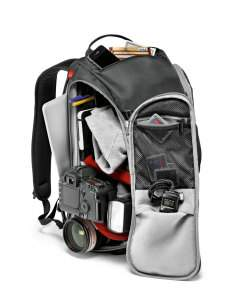 Mochila Manfrotto Advanced Travel, perfecta para largas salidas fotográficas