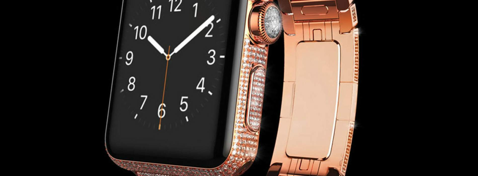 Goldgenie Spectrum, el Apple Watch de lujo