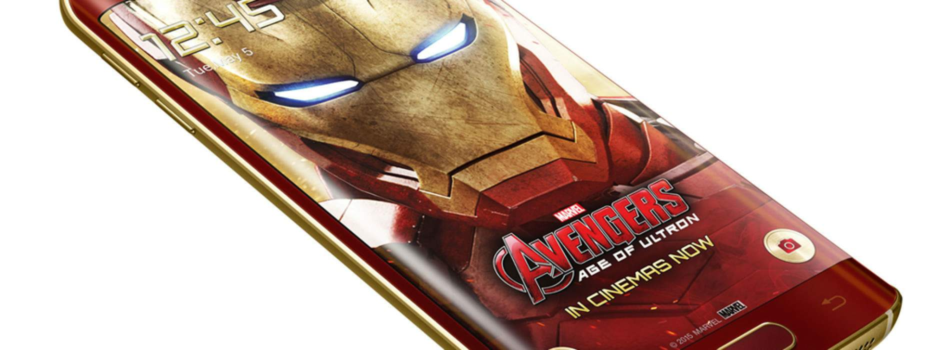 Samsung Galaxy S6 edge: Edición limitada Iron Man