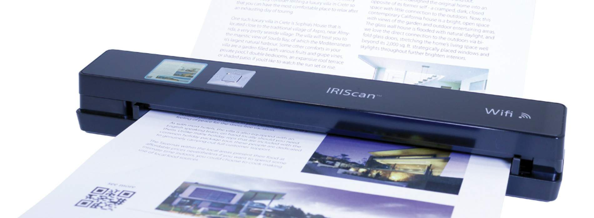 IRIScan Anywhere 3 WiFi: Adiós cables, adiós papeles
