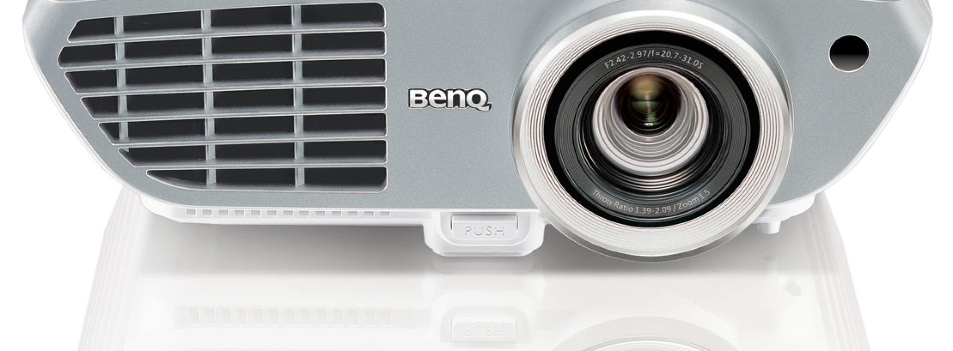BenQ W1350: Proyector Home Cinema Full HD para casa. Review en español