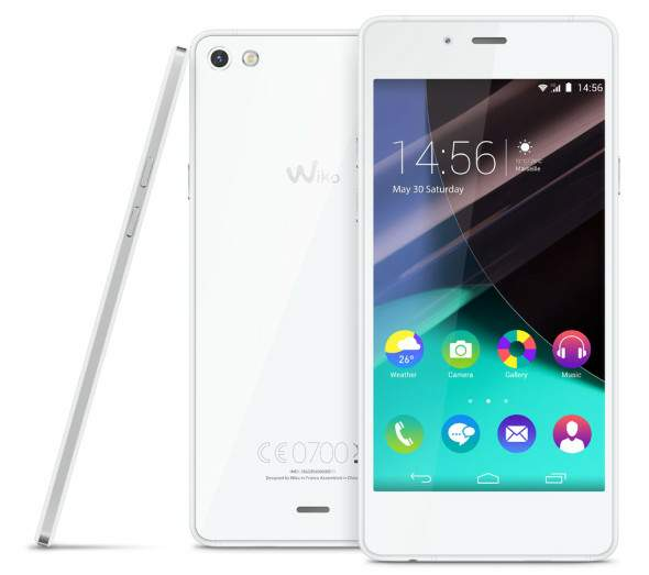Wiko Highway Pure (blanco-plateado)