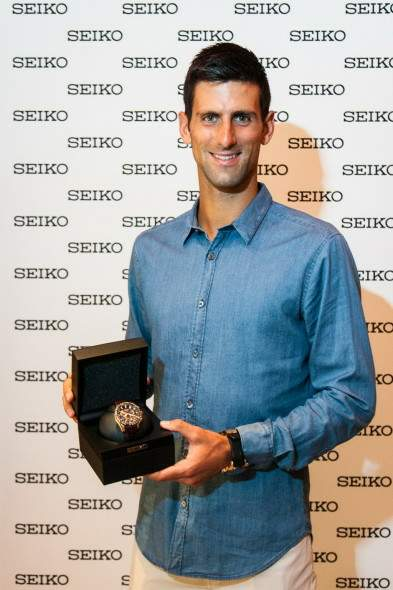 Seiko Astron GPS Solar Dual-Time Novak Djokovic Limited Edition