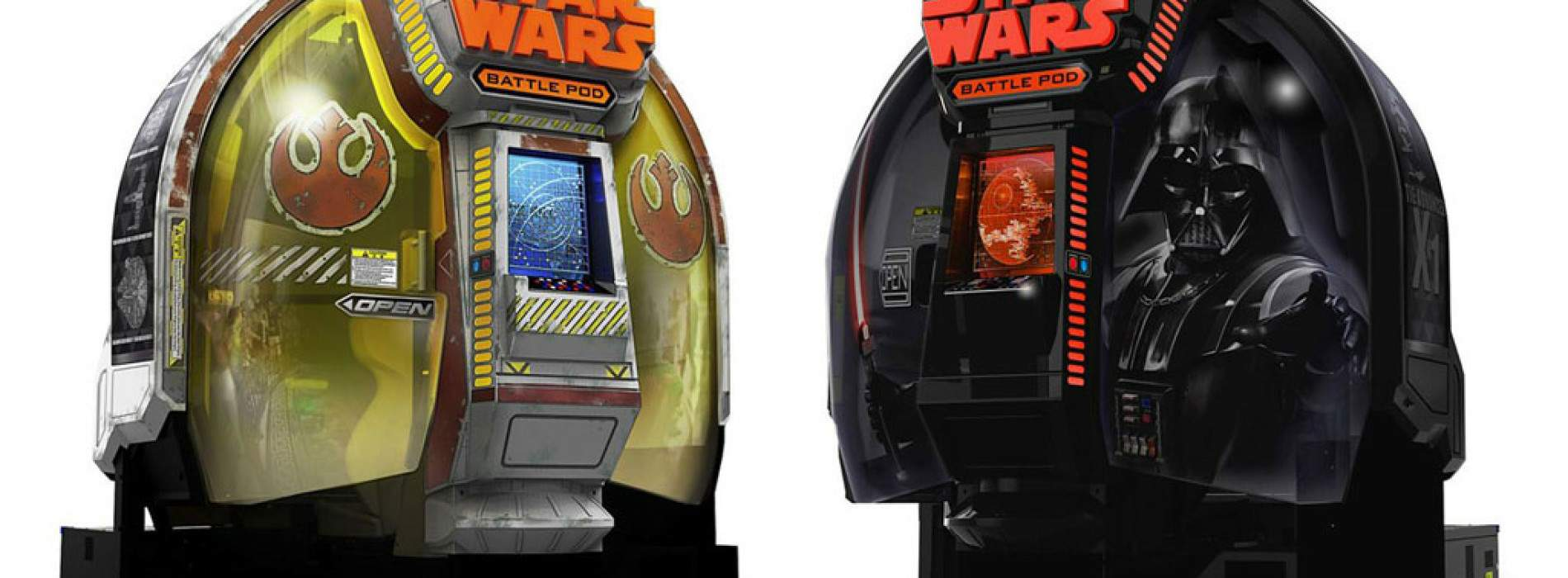 Battle Pod, la máquina recreativa de Star Wars