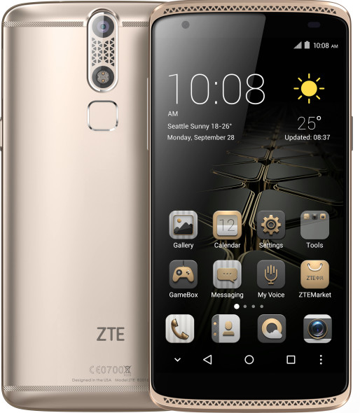 Smartphone ZTE AXON mini (Premium Edition) in Gold