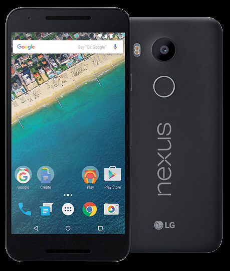 Móviles de gama media Nexus 5x(1)