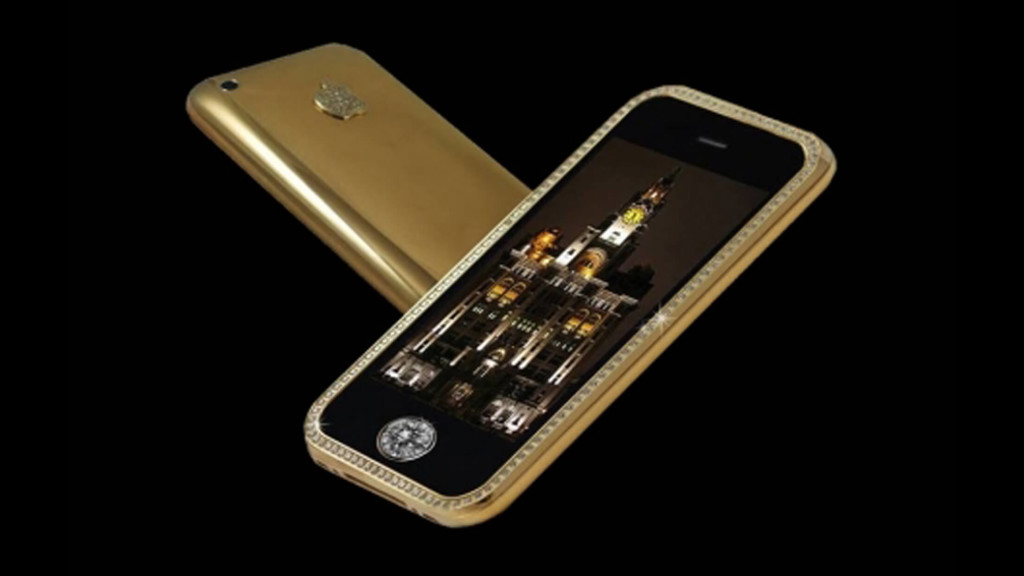 Móviles más caros Supreme Goldstriker iPhone 3G 32GB(1)