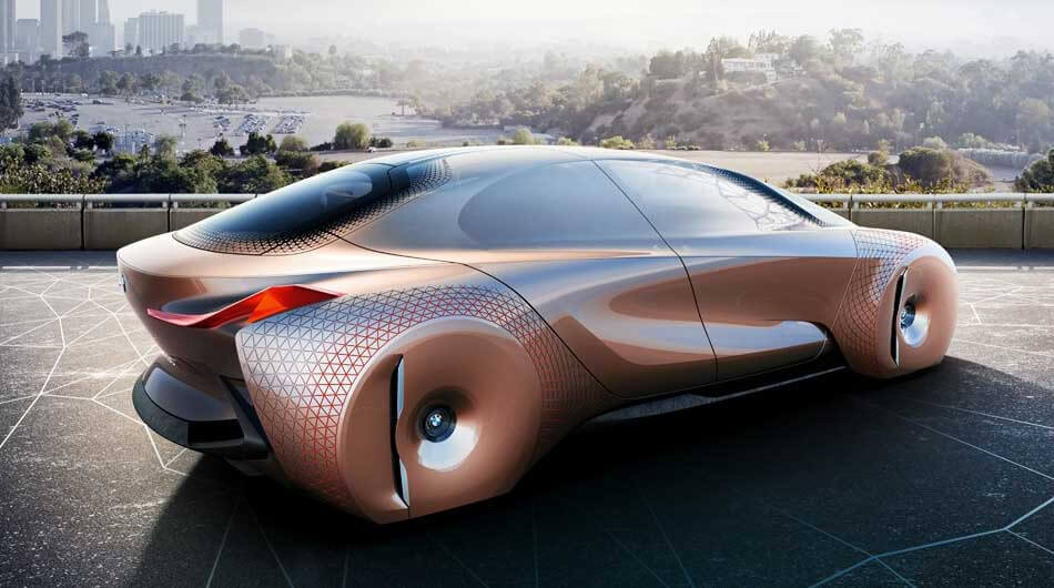 The vision next 100 prototipo de BMW 01