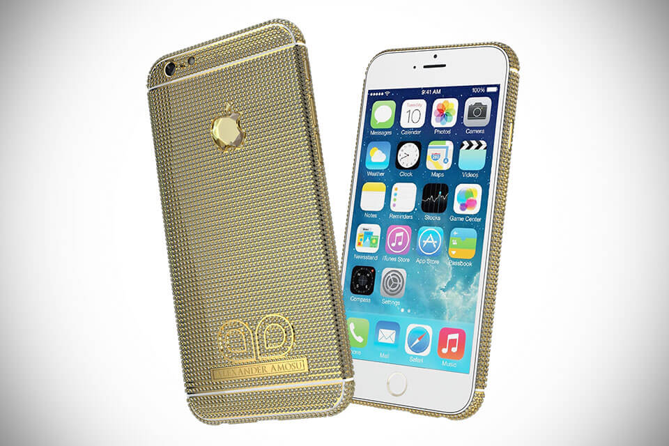 móviles más caros iPhone 6 Amosu Call Of Diamond(1)