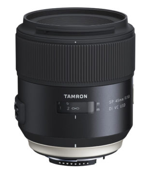 Tamron SP 45 mm f1.8 DI VC USD