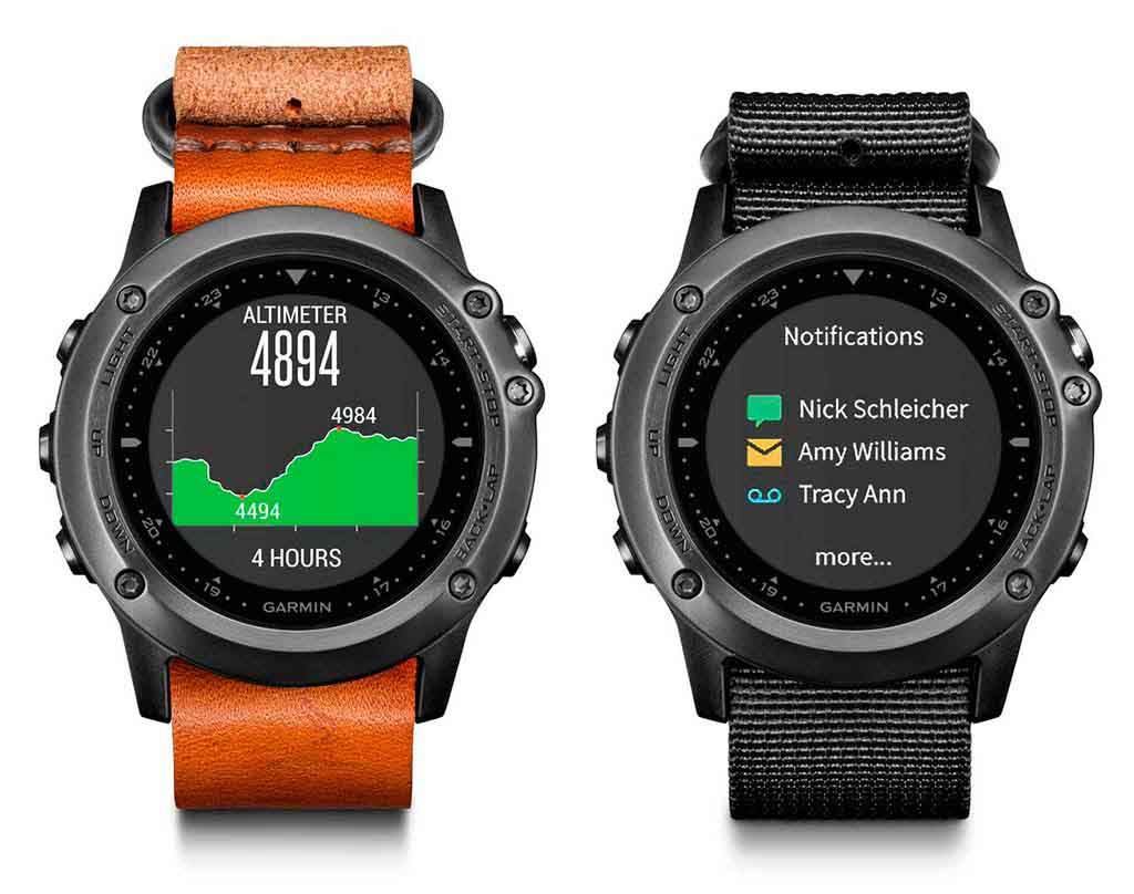 Garmin Fenix 3 HR correas