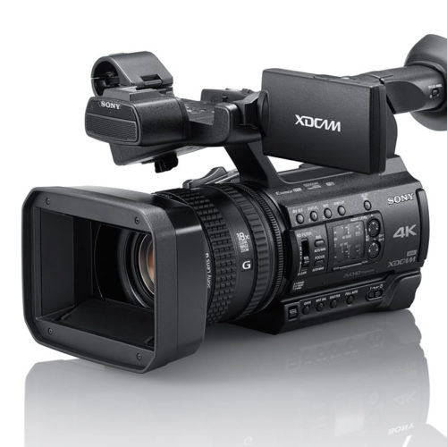 Sony PXW-Z150, un camcorder profesional 4K muy compacto