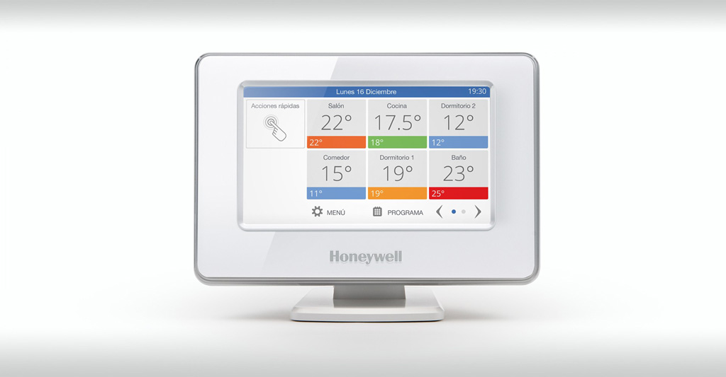 Termostato Honeywell evohome WiFi 01
