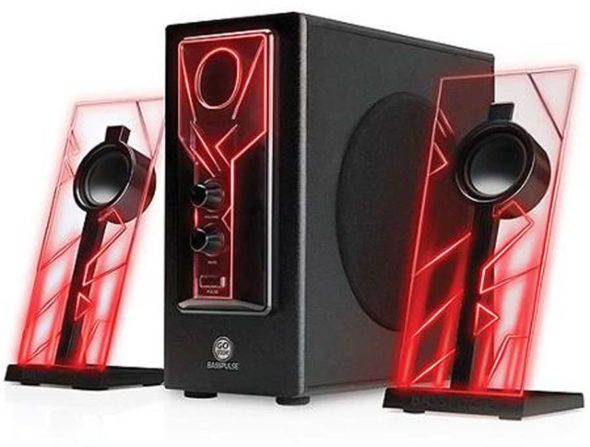 Altavoces con LED GoGroove 01