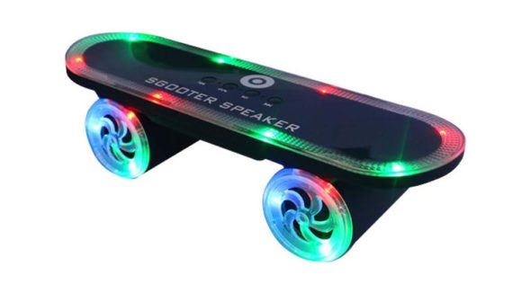 Altavoces con LED scooter03