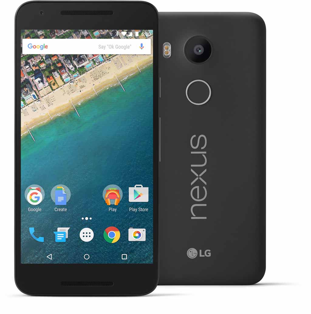Comparativa del iPhone SE LG Nexus 5X