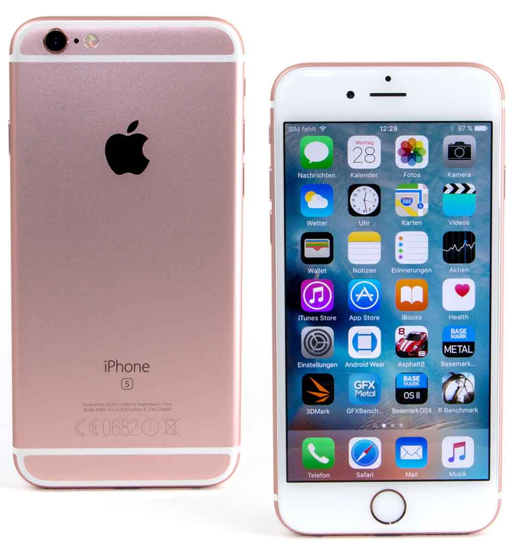 Comparativa iPhone SE iPhone 6s