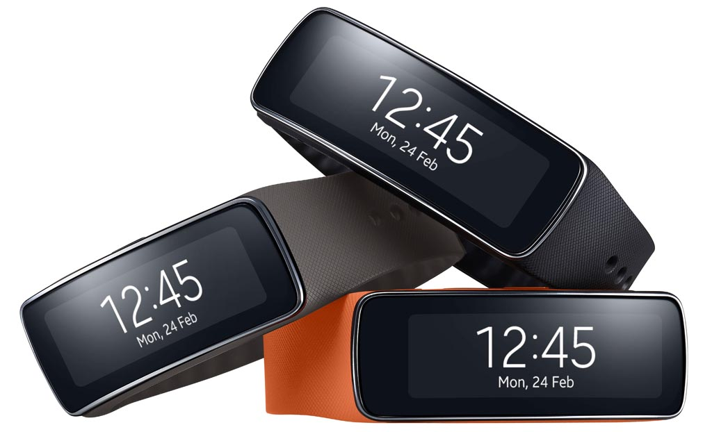 Samsung Gear Fit2 tres