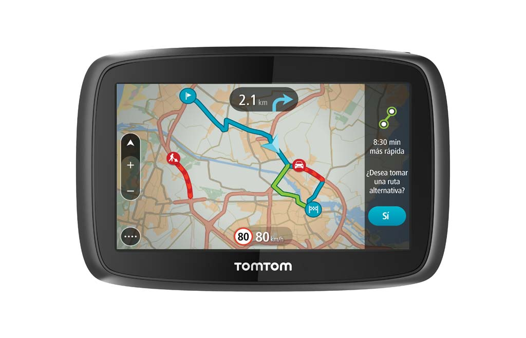 tomtom go 5100 y go 6100 llega m s r pido a tu destino revista gadget. Black Bedroom Furniture Sets. Home Design Ideas