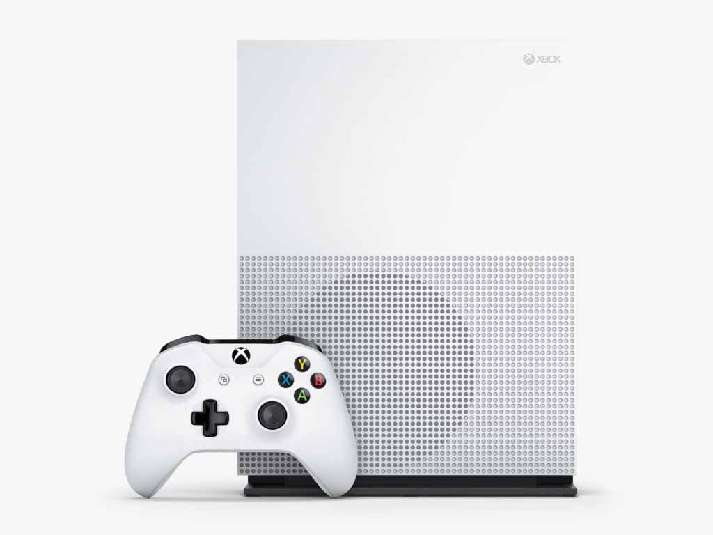 Xbox One S Console Vertical Top