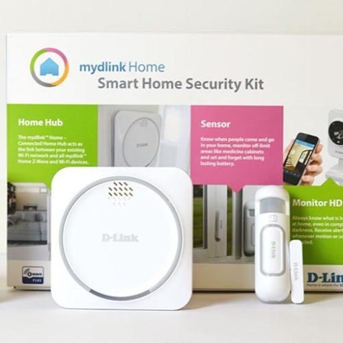 Así es el kit de seguridad mydlink Home Security