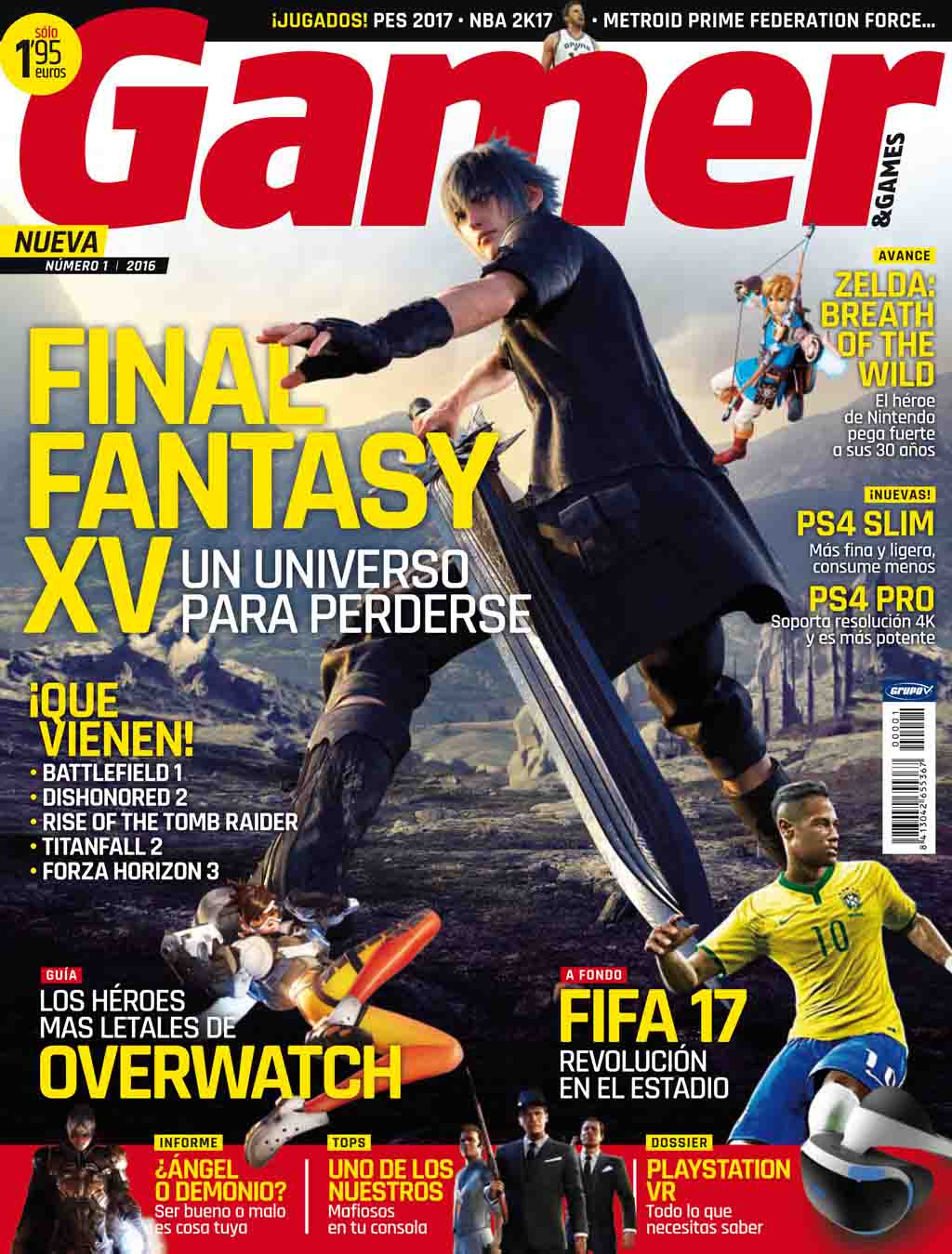 Número 1 revista gamer