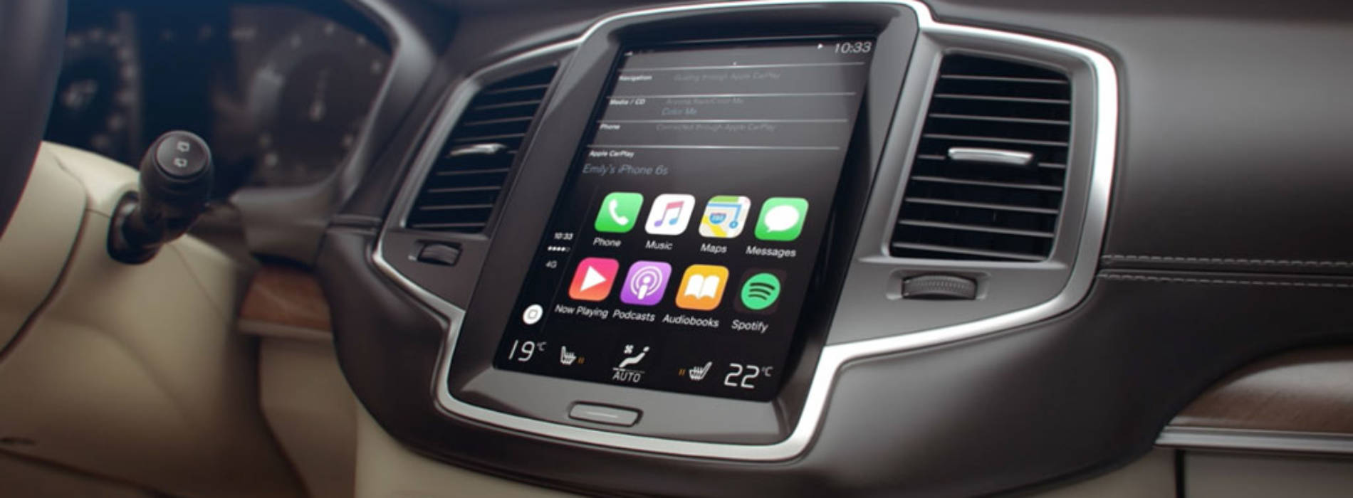 La gama Volvo ya incluye Apple CarPlay
