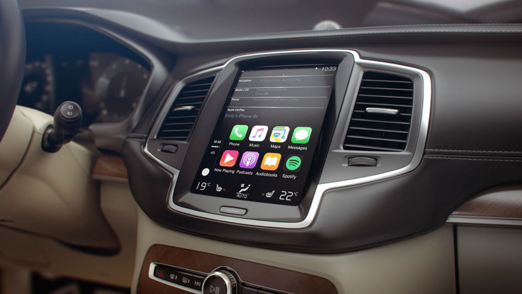 la gama volvo ya integra apple carplay para conectar tu iphone. Black Bedroom Furniture Sets. Home Design Ideas