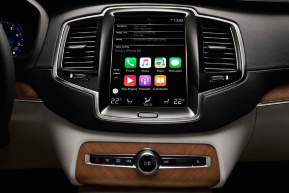 Apple CarPlay - Volvo XC90