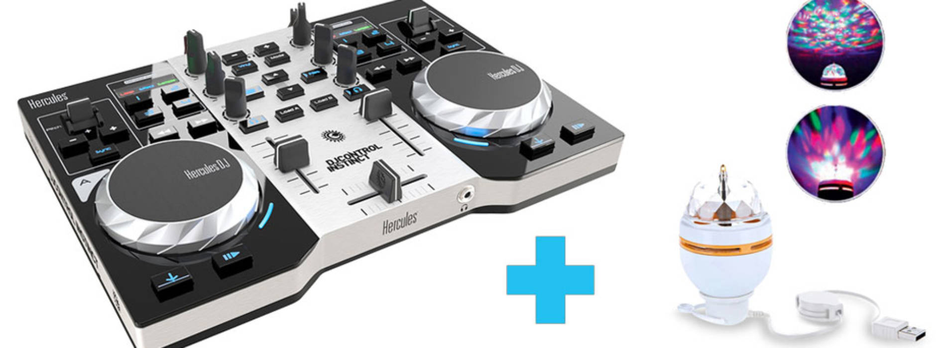 Concurso: Hercules DJControl Instinct Party Pack