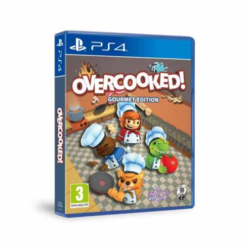 Concurso Gamer: Overcooked! Gourmet Edition para PS4