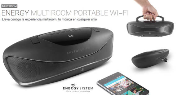 Energy Sistem Multiroom Portable WiFi
