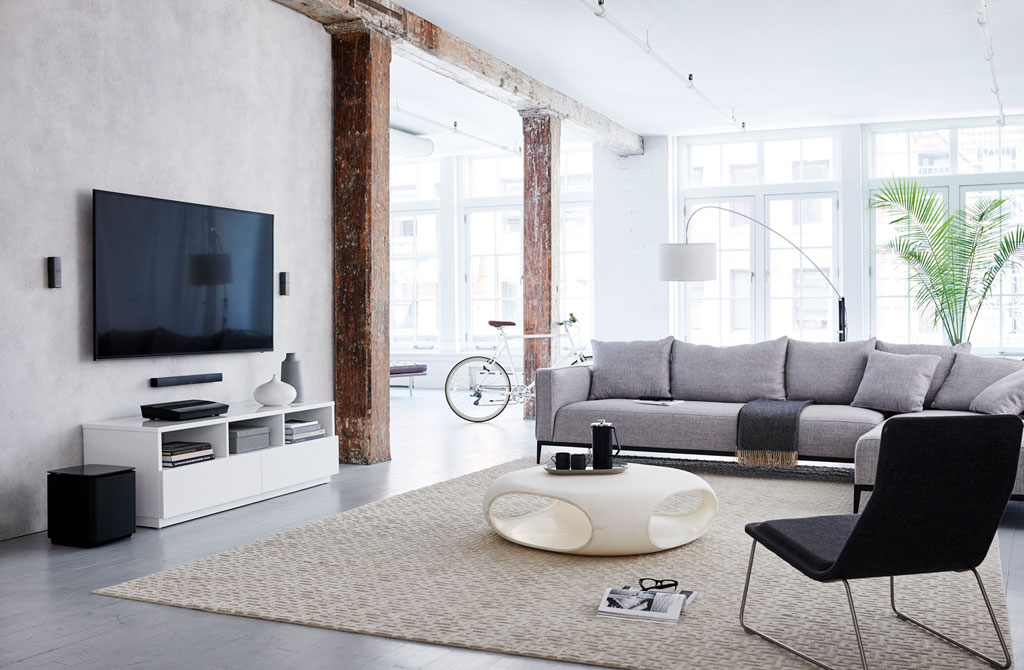 how to connect bose lifestyle to tv