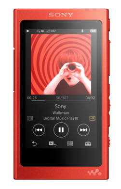 Sony Walkman NW-A35 (red)
