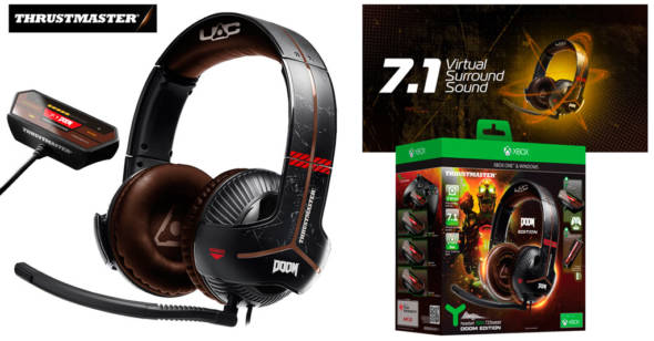 Concurso Thrustmaster Headset Y350X 7.1 Doom Edition