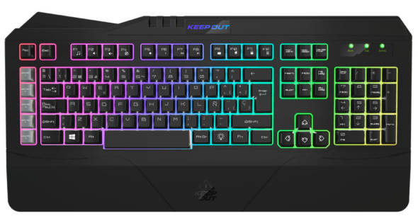 Keep Out Gaming KEYBOARD F89PT